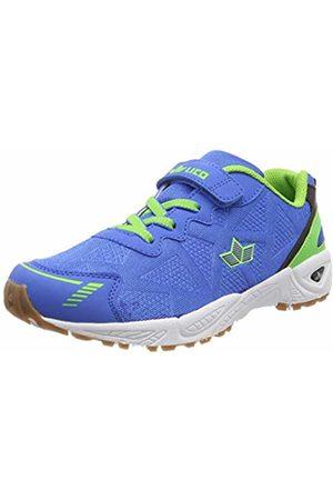 LICO Unisex Adults' Flori Vs Multisport Indoor Shoes, Blau/Lemon