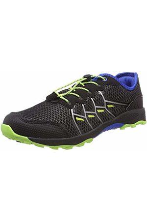 LICO Men's Austin Low Rise Hiking Shoes, Schwarz/Blau/Lemon