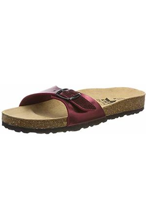 LICO Women's Bioline Once More Low-Top Slippers, Bordeaux