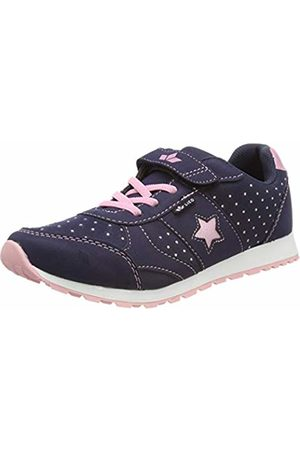 LICO Women's Sissy Vs Low-Top Sneakers, Marine/Rosa