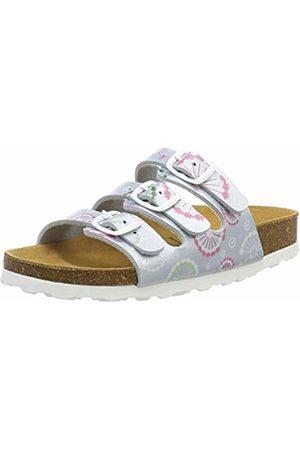LICO Girls' Bioline Flower Kids Low-Top Slippers, Mint