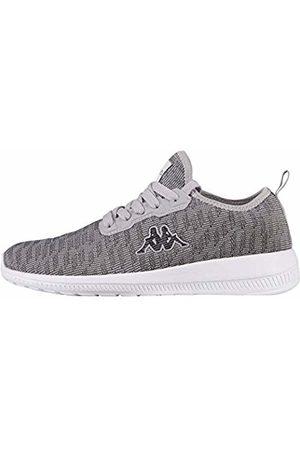 Kappa Unisex's Gizeh Low-Top Sneakers, lgrey 1614 l´