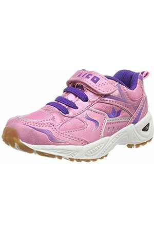 LICO Girls' Bob Vs Multisport Indoor Shoes, Rosa/Lila