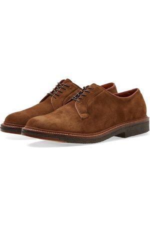 Alden Shoe Company Alden Crepe Sole Plain Toe Blucher