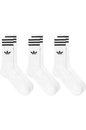 adidas Solid Crew Sock - 3 Pack