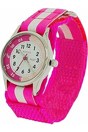 Reflex Girls Analogue Classic Quartz Watch with Textile Strap REFK0006
