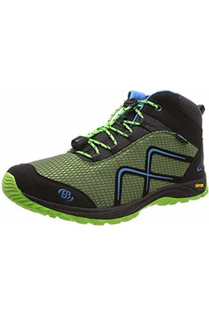 Bruetting Men's Guide High Rise Hiking Shoes, Lemon/Schwarz/Blau