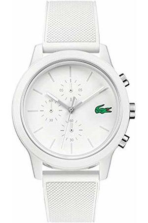 Lacoste Mens Chronograph Quartz Watch with Silicone Strap 2010974