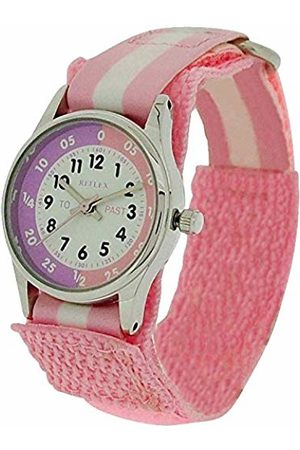 Reflex Girls Analogue Classic Quartz Watch with Textile Strap REFK0005