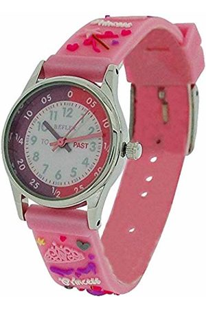 Reflex Girls Analogue Classic Quartz Watch with Rubber Strap REFK0009