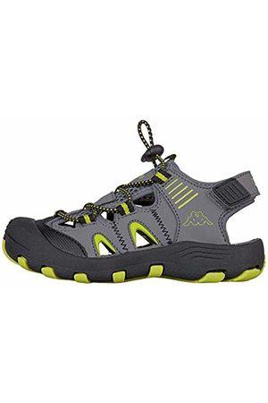 Kappa Unisex Kids' Taken Closed Toe Sandals, 1633 /Lime