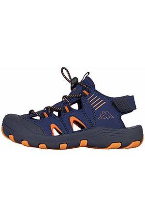 Kappa Unisex Kids' Taken Closed Toe Sandals, 6744 Navy/