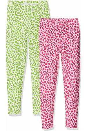 Playshoes Girls Leggings & Treggings - Girl's Leggings Leopardenmuster Im 2er Pack