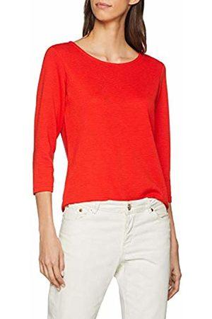 JDY Women's SAGA 3/4 Zip TOP JRS NOOS Longsleeve T-Shirt