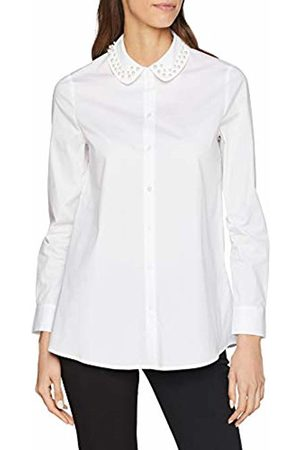 Rich & Royal Women's Cotton Blouse with Decorated Collar ( 100)