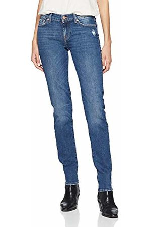 Seven for all Mankind Women's Mid Rise Roxanne Slim Jeans