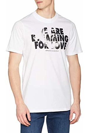Armani Men's We are Dreaming for Love T-Shirt, ( 1100)