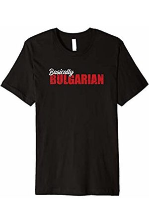 Funny Weightlifting Apparel Basically Bulgarian - Weightlifting T-Shirt for Gym Workout