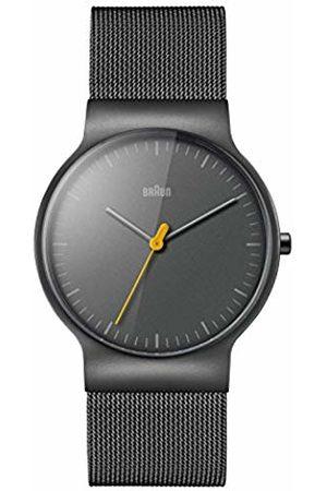 von Braun Mens Analogue Classic Quartz Watch with Stainless Steel Strap BN0211TIMHG