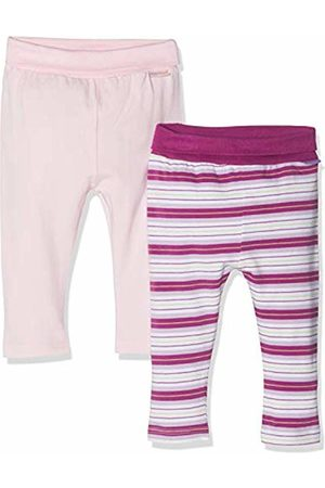 Playshoes Baby-Leggings Lila Gestreift Und Rosa Im 2er Pack