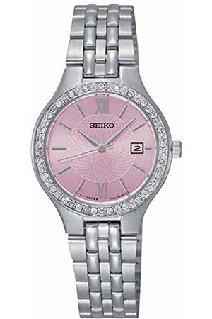 Seiko Womens Analogue Quartz Watch with Stainless Steel Strap SUR765P9