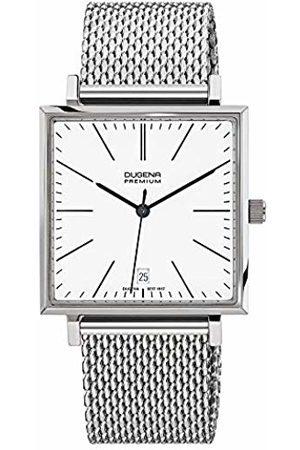 DUGENA Premium Men's Quartz Watch Dessau Carree 7090140 with Metal Strap