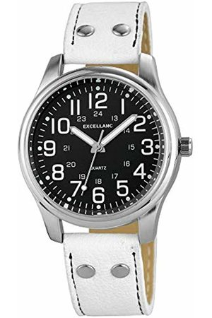 Excellanc Womens Analogue Quartz Watch with Leather Strap 1.95021E+11