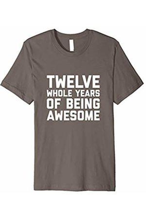 12th Birthday Shirt Gift Age 12 Year Old Twelve Boy Girl