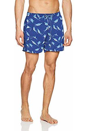 HUGO BOSS Men's Piranha Short, (Open 472)