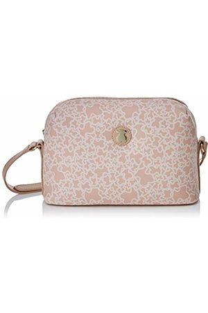 TOUS Mediana Kaos Mini de Lona, Women's Cross-Body Bag, Rosa