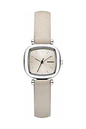 Komono Womens Analogue Quartz Watch with Leather Strap KOM-W1232