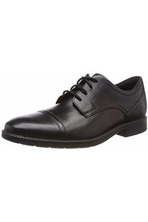 Rockport Men Formal Shoes - Men's Dp Modern Cap Toe Lea Oxfords, 001