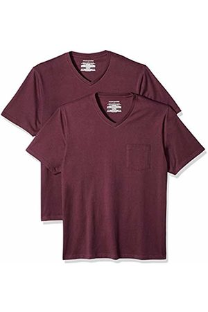 Amazon Essentials 2-Pack Regular-fit V-Neck Pocket T-Shirt