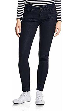 Street one Women Slim - Women's 371890 York Slim Jeans, (Dark Coated Wash 11694)