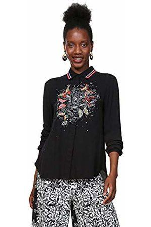 Desigual Women's CAM_DINIA Cami Shirt, Negro