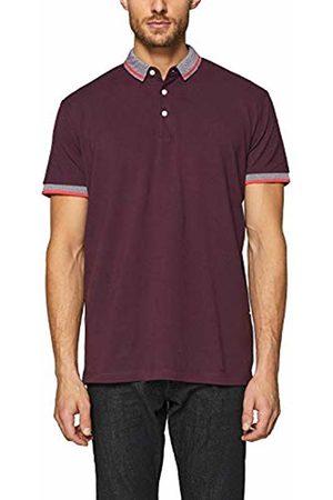 Esprit Men's 019ee2k009 Polo Shirt, (Bordeaux 600)