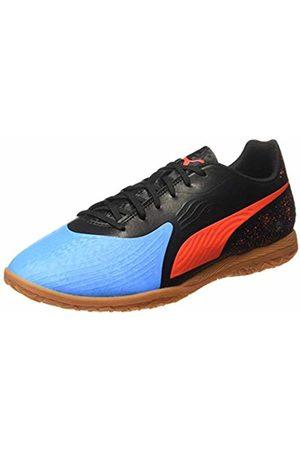 Puma Men's ONE 19.4 IT Multisport Indoor Shoes, (Bleu Azur- Blast -Gum)