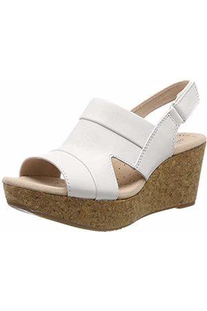 c89d77ad82c5 Clarks Women s Annadel Ivory Sling Back Sandals