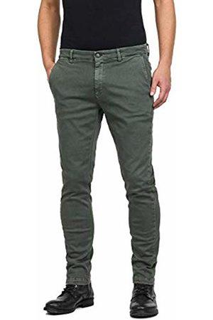 Replay Men's Zeumar Trouser, (Military 30)