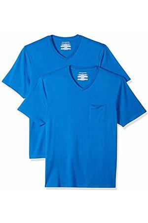 Amazon Essentials 2-Pack Regular-fit V-Neck Pocket T-Shirt (Imperial Imp)