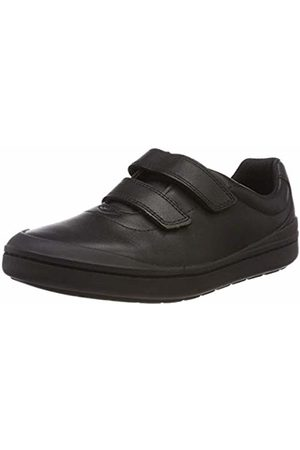 Clarks Boys' Rock Play K Low-Top Sneakers, ( Leather-)