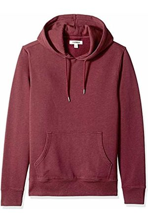 Goodthreads Men's Pullover Fleece Hoodie, Burgundy