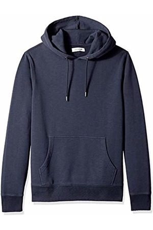 Goodthreads Men's Pullover Fleece Hoodie, Navy Eclipse