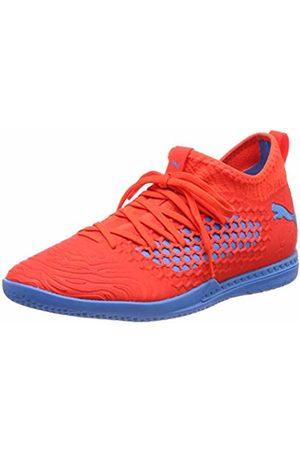 Puma Men Shoes - Men's Future 19.3 Netfit IT Multisport Indoor Shoes, ( Blast-Bleu Azur)