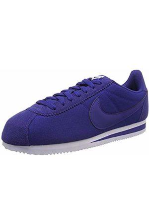 Nike Men's Classic Cortez Nylon Running Shoes, Deep Royal / 407