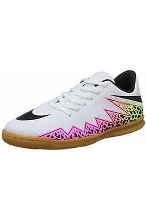Nike Unisex Kids' Jr Hypervenom Phade II Futsal Shoes, Weiß ( VoltWhite/ Total Volt)