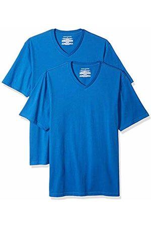 Amazon Essentials 2-Pack Regular-fit V-Neck T-Shirt (Imperial Imp)