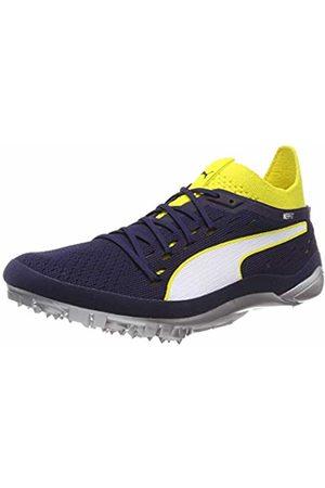 Puma Unisex Adults' Evospeed Netfit Sprint 2 Track & Field Shoes, (Blazing -Peacoat )