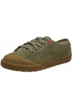 Clarks Boys' Cyrus Track K Low-Top Sneakers, (Khaki Suede-)