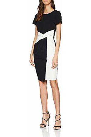 Paper Dolls Women's Twisted Wasit Bodycon Dress, ( 001)